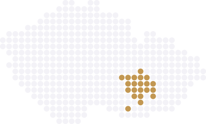 Realitní mapa okres Brno